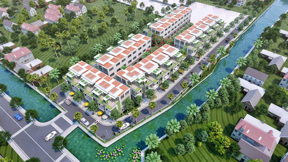 Phối cảnh dự án the Residence 2- the res 2 Đất Củ Chi