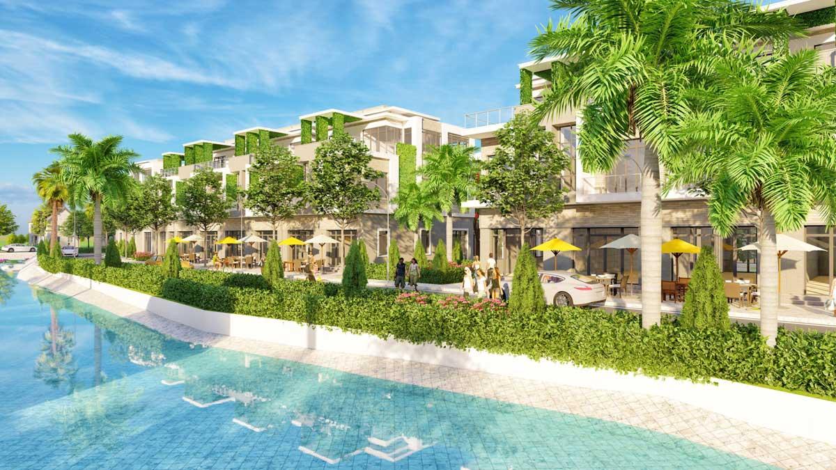 Khu nhà phố dự án The Residence 2 - The Res 2 Đất Củ Chi