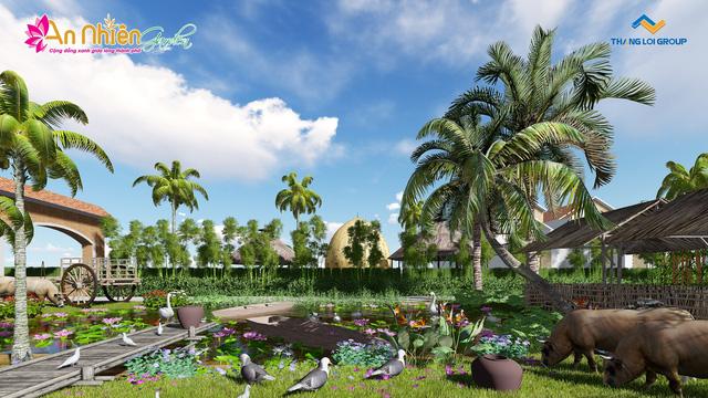 Tổng thể dự án An Nhiên Garden